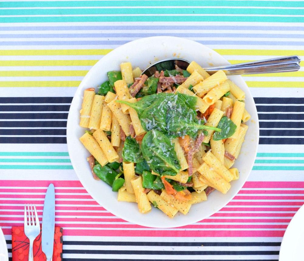 pasta-på-duk
