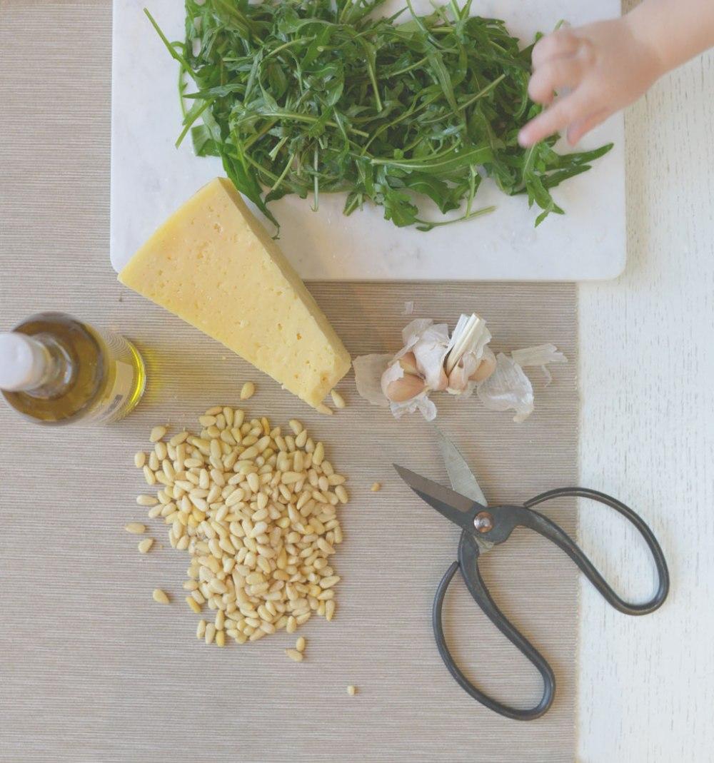 ruccola-parmesan