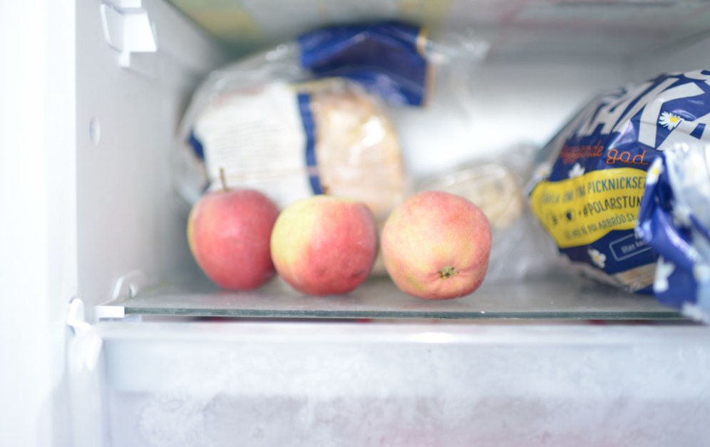 Äpple i frysen
