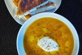 Lins- & morots soppa
