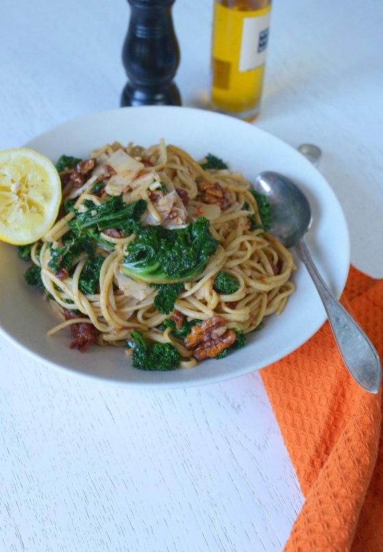 pasta-grönkål