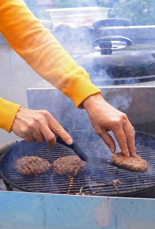 grill-hamburgare