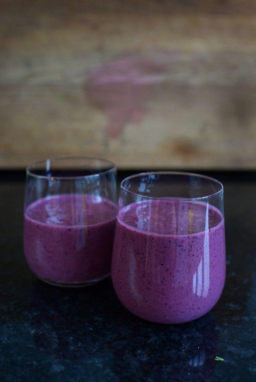 smoothies-med-blåbär